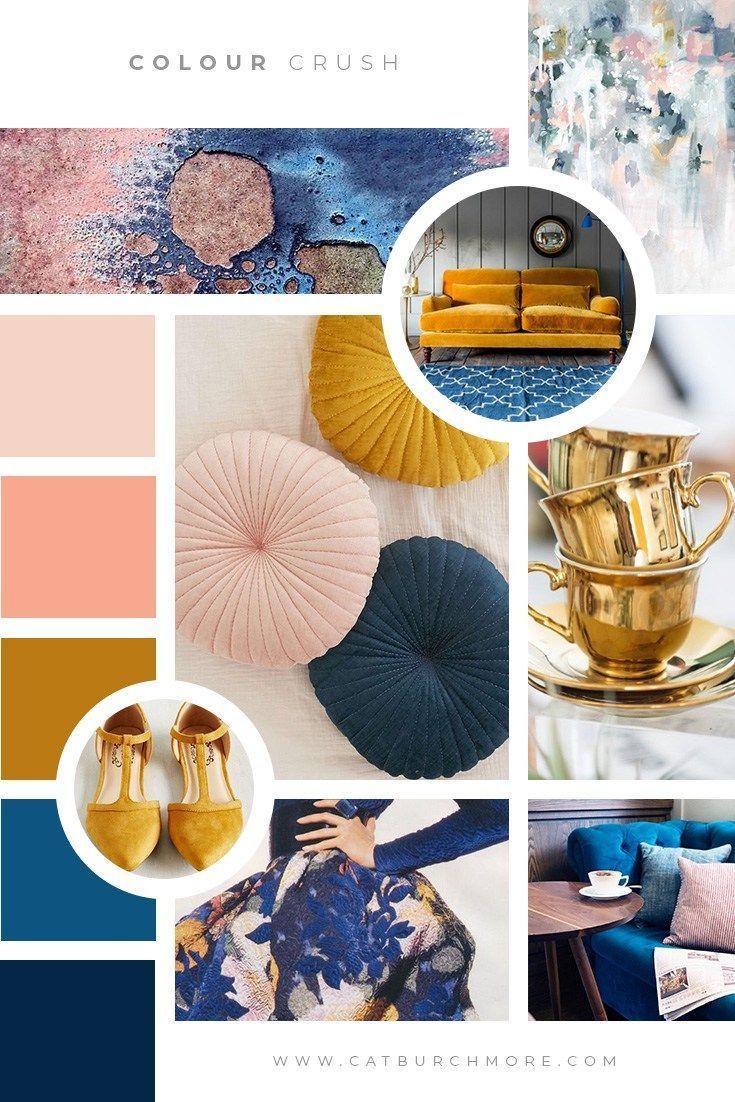 Colour Crush 080118   a new series #080118 #colour #crush #series #moodboards