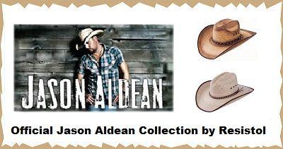 Jason Aldean Offical Signature Cowboy Hat Collection  ea692ec20069