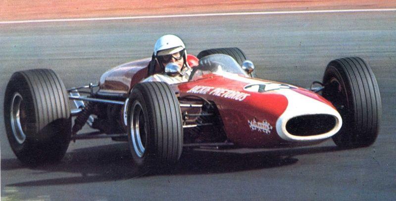 Dave Charlton 1968 Scuderia Scribante Brabham BT11