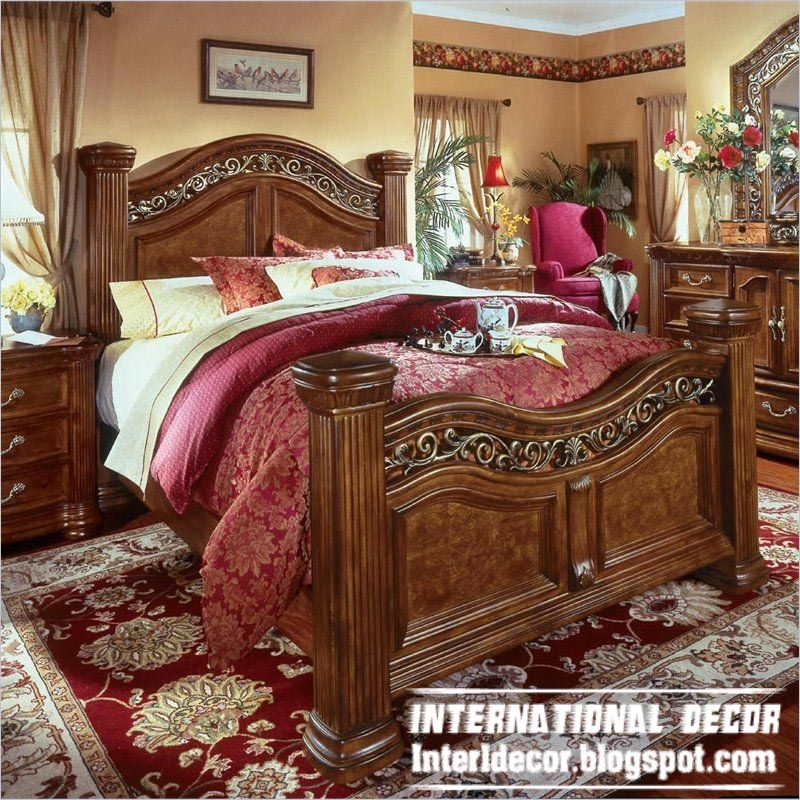 Home Decor Ideas: Turkish Bed Designs For Classic Bedrooms Furniture