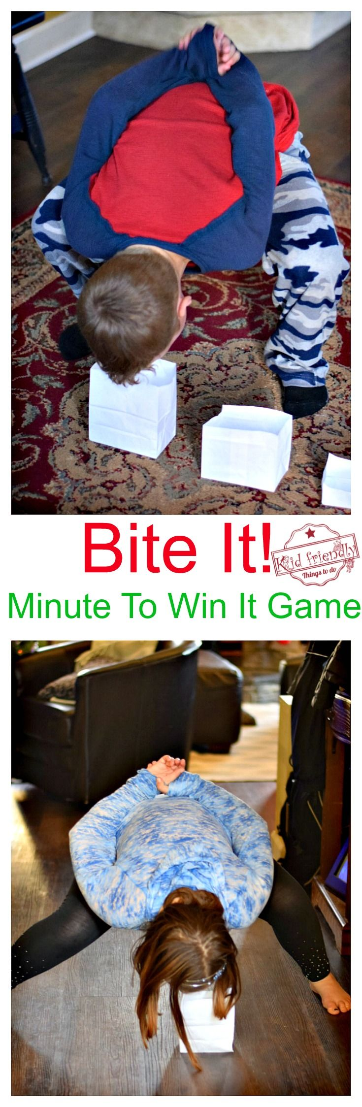 Awesome Minute To Win It Games that are Great for Kids, Teens and Adults - For Your Family Parties!