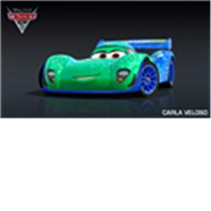 Carla Veloso The Brazilian Racer In Cars 2 Disney Cars Wallpaper