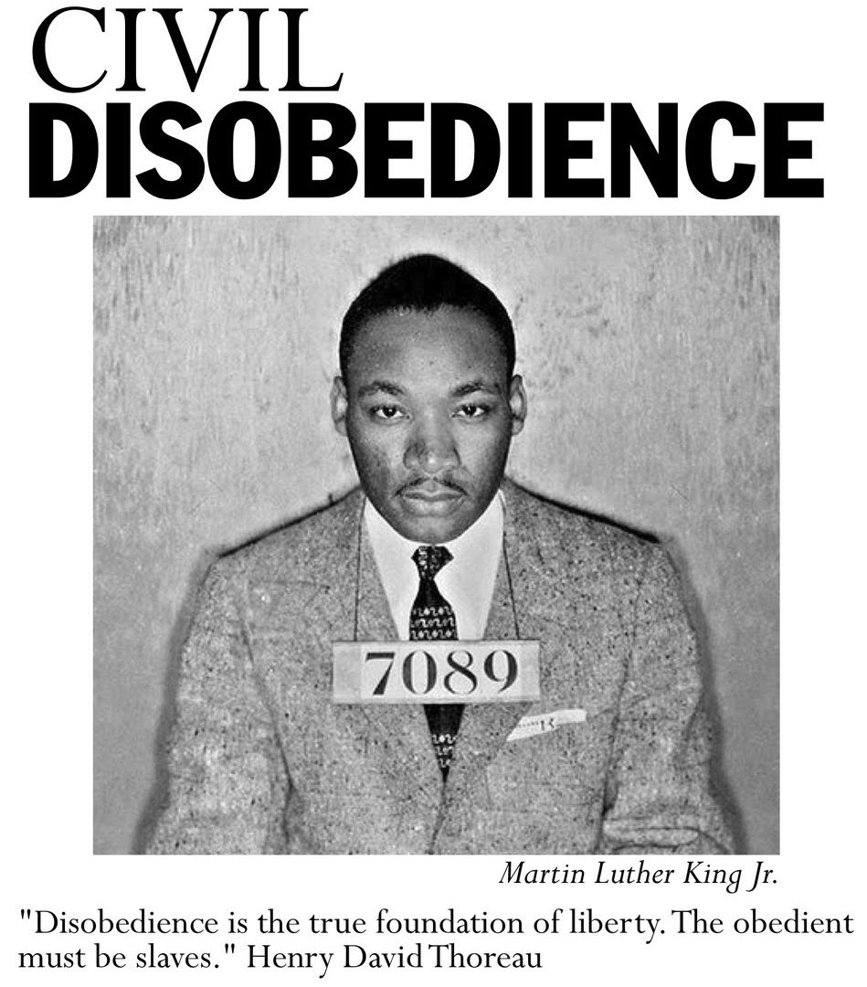the multiple mini interview questions book and multiple mini martin luther king jr s advice to us about using violence to reform america a poster used to promote civil disobedience