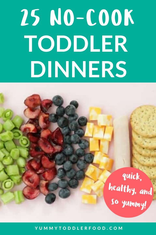 25 Quick No-Cook Toddler Dinners images