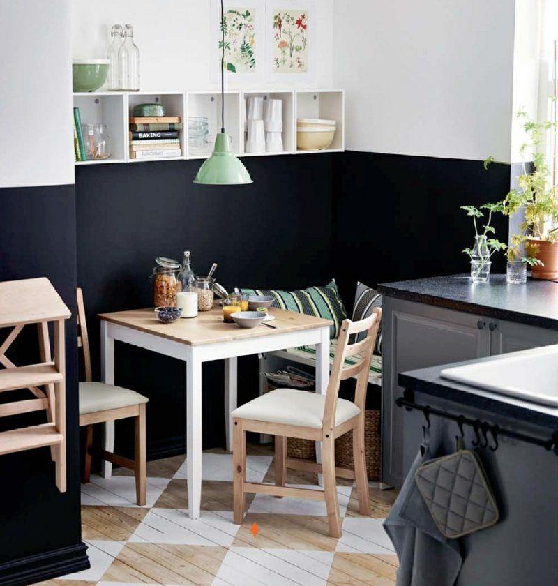 Als Einrichtung bei wenig Platz in der Küche wählen Sie eine - kche mit esstisch