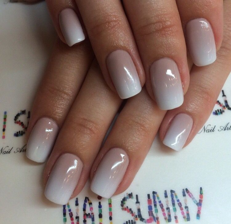 nails#square#nude#ombré   hair and beauty   Pinterest   Nails ...