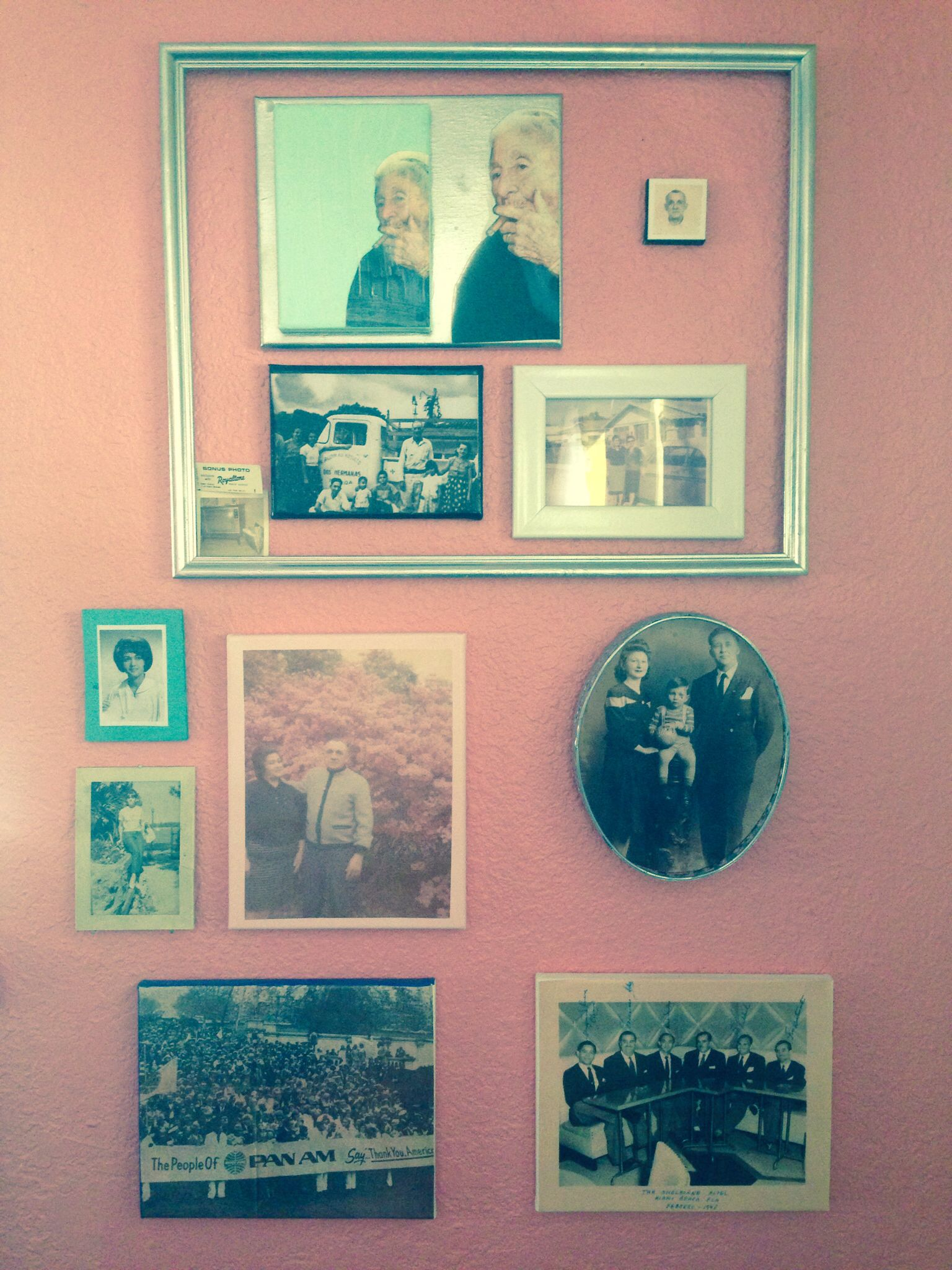 Hand made frames, photo transfers and canvas\'s. Honoring those ...