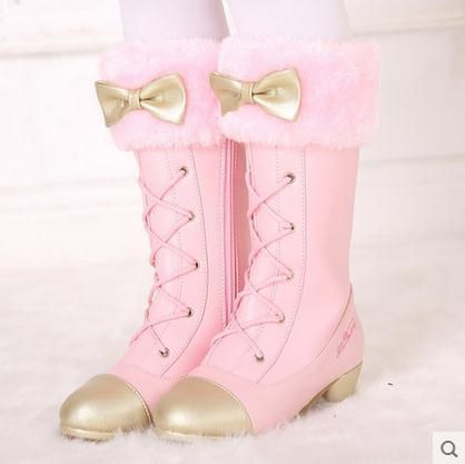 girls dress shoes, Kids high heel boots