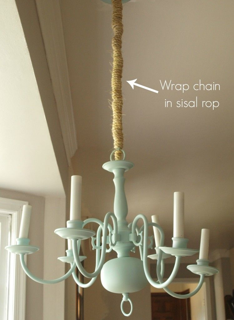 Chandelier Redo I Think Might Do This To That From Dining Room And Hang Over The Island In Kitchen