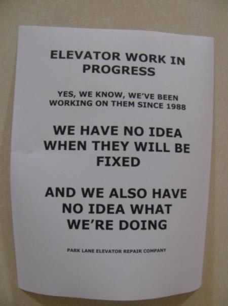 16 Of The Funniest Out Of Order Signs Funny Signs Out Of Order With Images Funny Signs Funny Note Out Of Order Sign