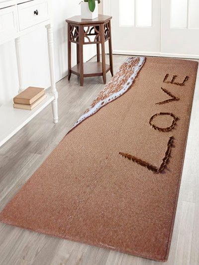Miraculous Beach Style Velvet Antislip Bathroom Rug Light Brown W24 Home Remodeling Inspirations Cosmcuboardxyz