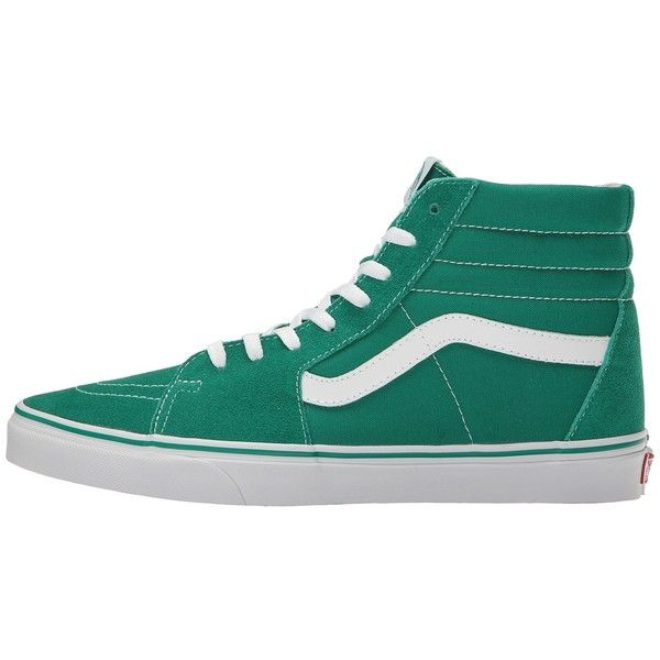 b9e409c80fa1 Vans SK8-Hi ((Suede Canvas) Ultramarine Green True White) Skate ...