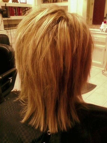 back view of medium layered haircuts 14 medium shag haircuts that are worth it to try pictures 2773