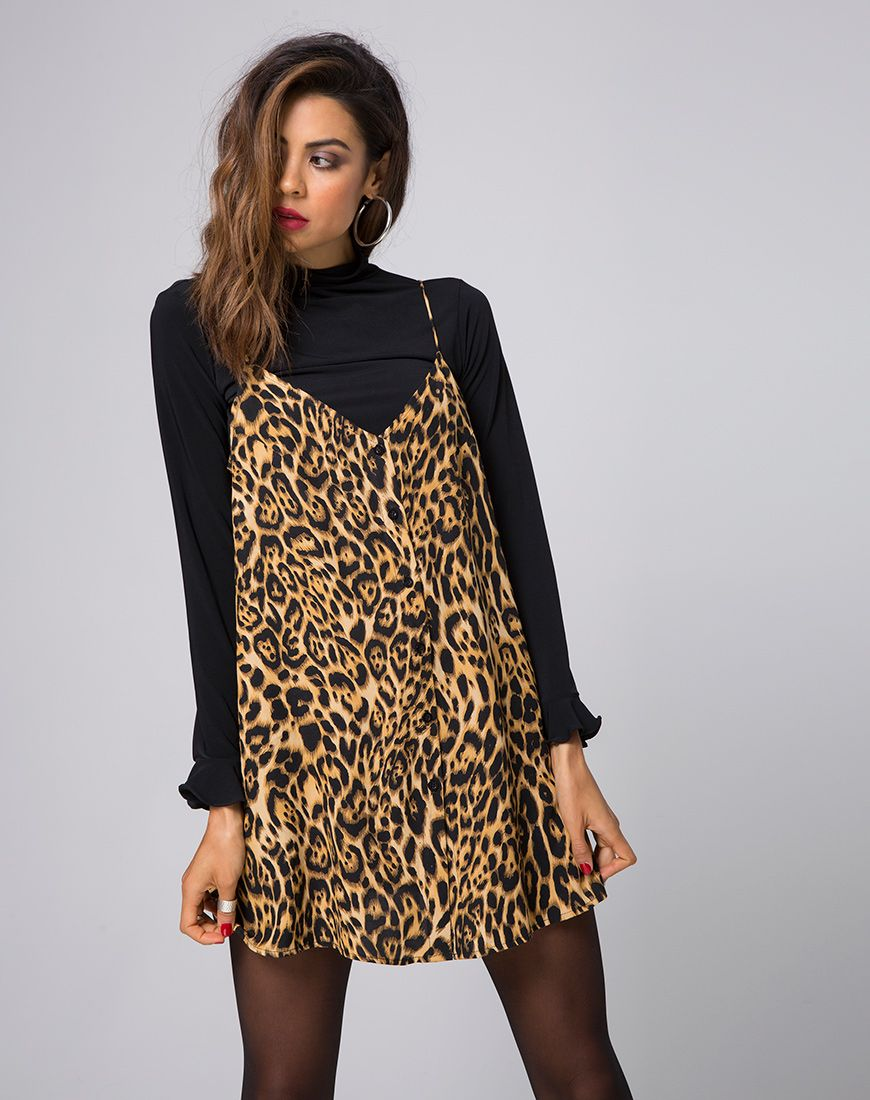 d0fe2d28989f Get your paws on the wildest slip of the year; the Sanna. Animal prints are  still trending and we can't get enough. Now in a leopard print this slip  dress ...