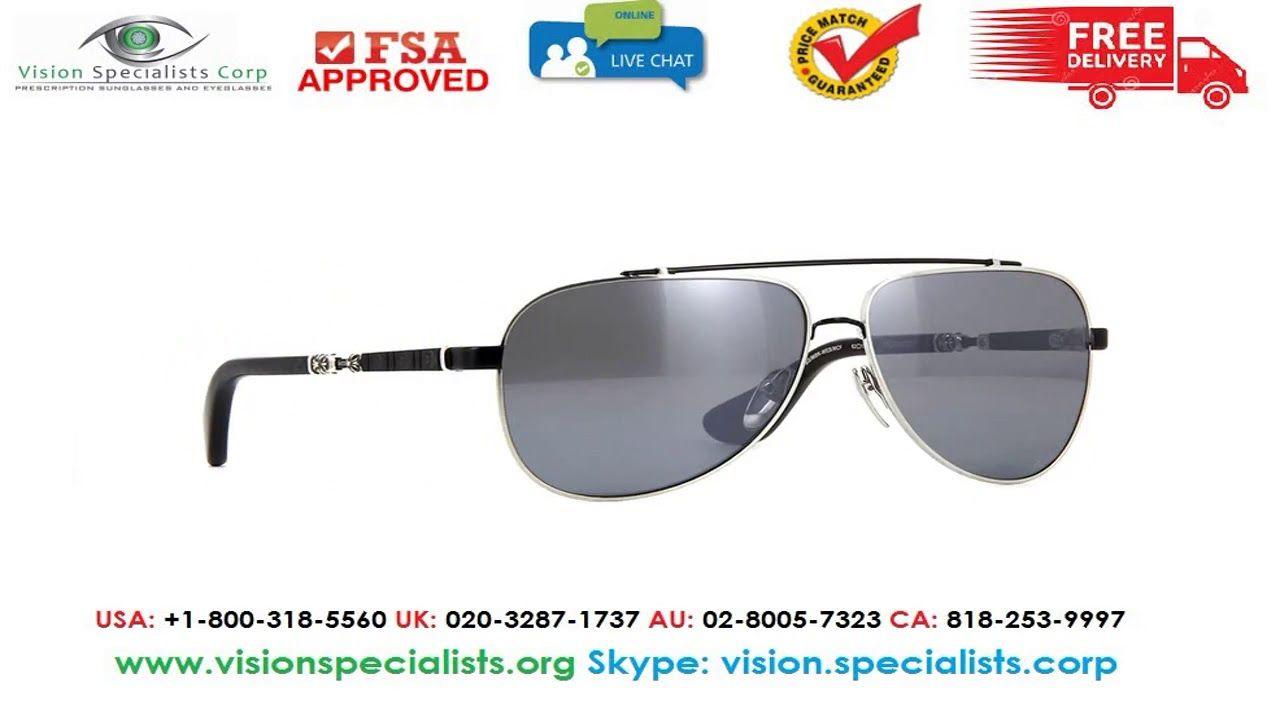 a1d7170c3350 Chrome Hearts Jackaddict Brushed Silver And Matte Black Sunglasses ...