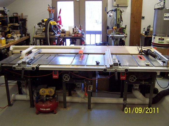 Magnificent Great Table Saw Setup Laguna Ts Saw Woodworking Talk Best Image Libraries Sapebelowcountryjoecom