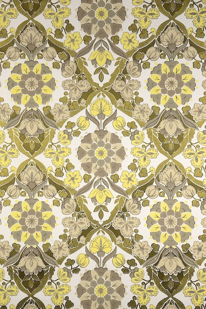 Vintage Gold Baroque Wallpaper Original Style With Lots Of