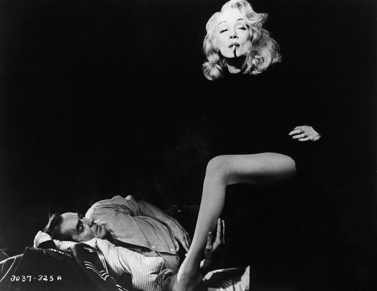 """TY & Marlene Dietrich """"Witness for the Prosecution"""""""