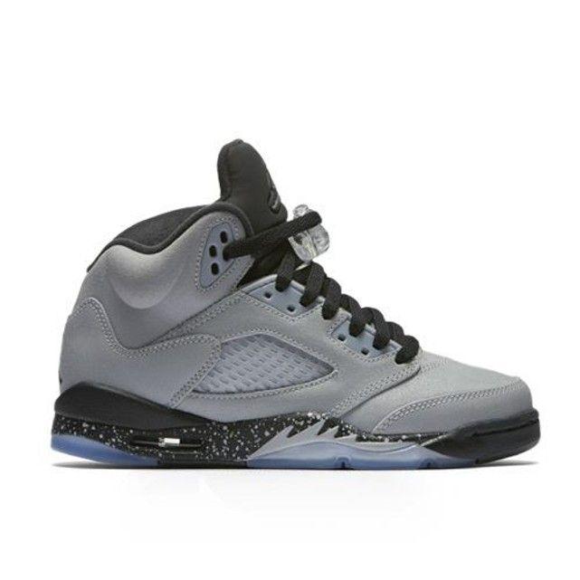 online retailer f7fd0 d35cd Basket AIR JORDAN 5 RETRO GS NIKE La réincarnation de la chaussure Air  Jordan 5 Retro