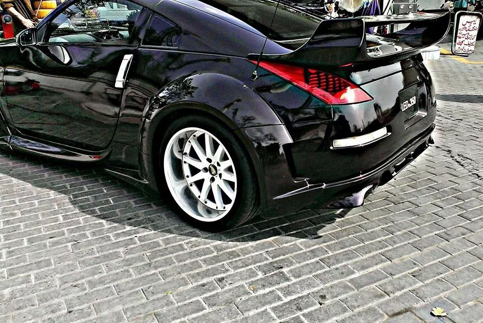 Nissan 350z With Wide Arches