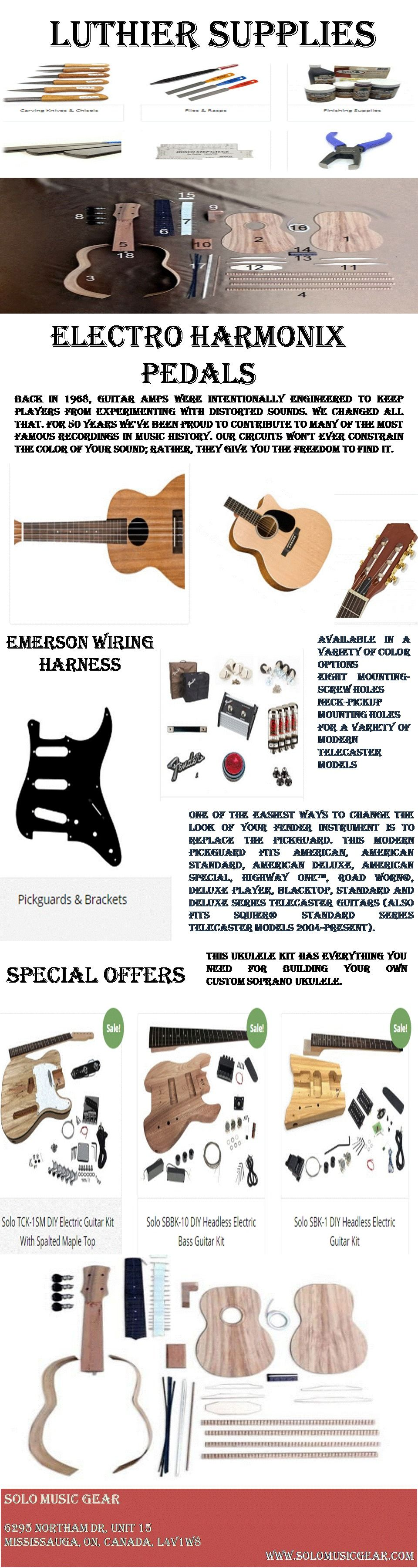 Guitar Services Canada In 2020 Solo Music Guitar Kits Electric Guitar Kits