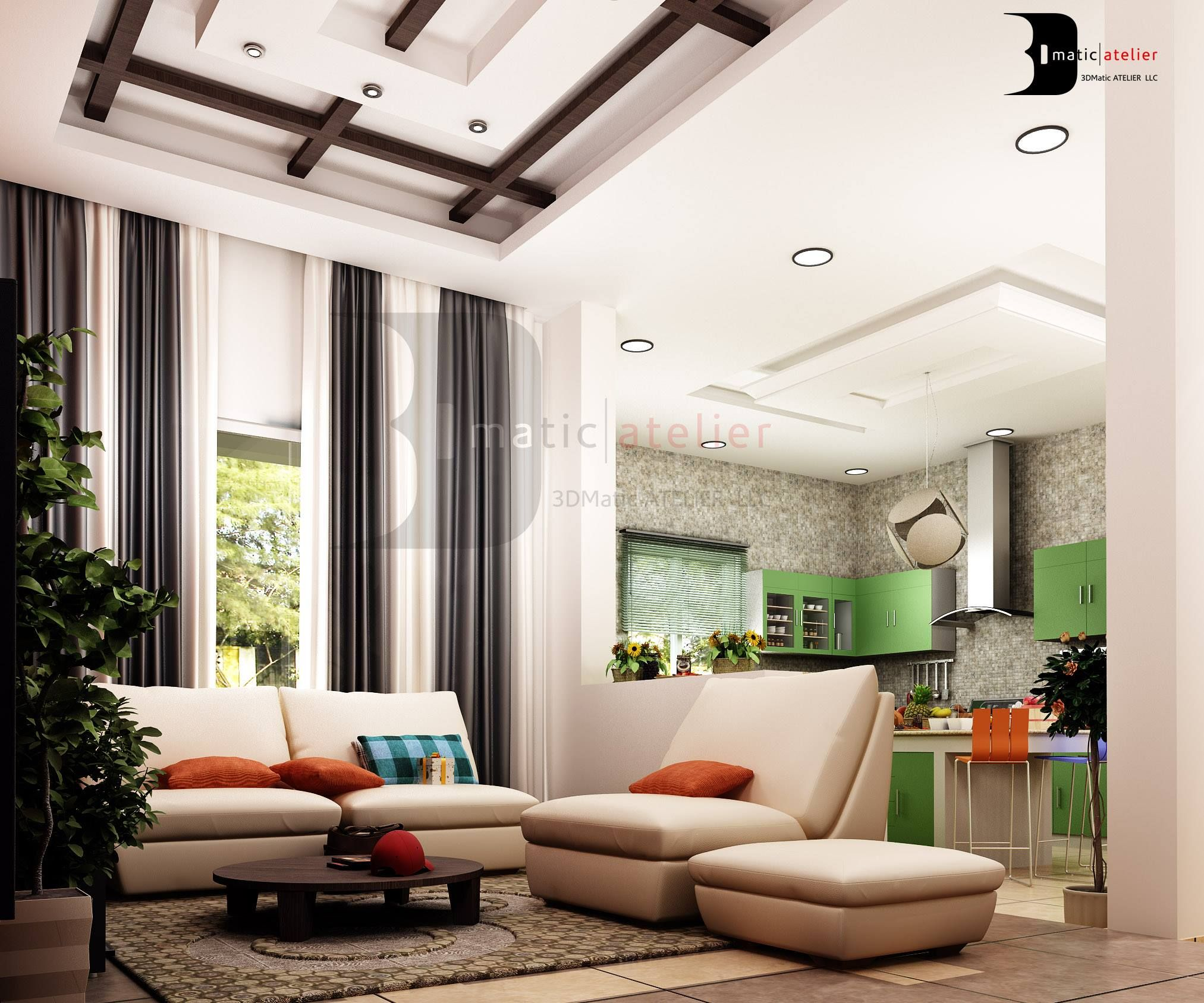 Render Done For A Private Residence Lekki Lagos Interior
