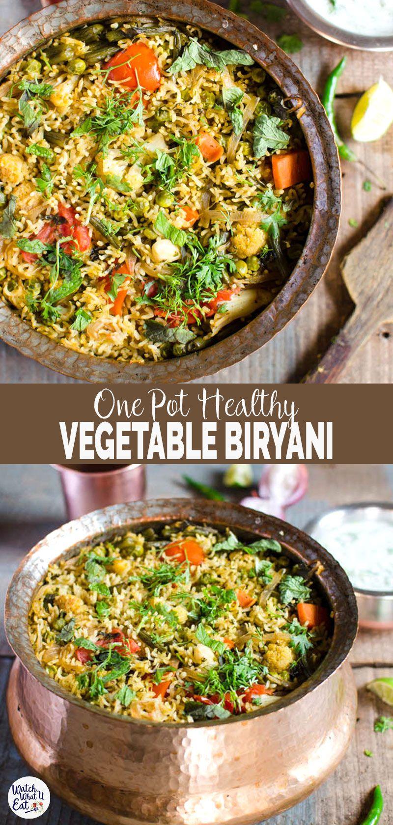 One Pot Vegetable Biryani images
