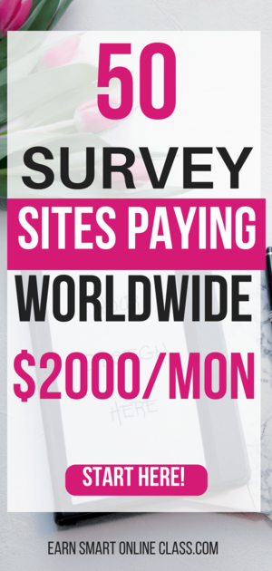 best international paid survey sites that pay worldwide