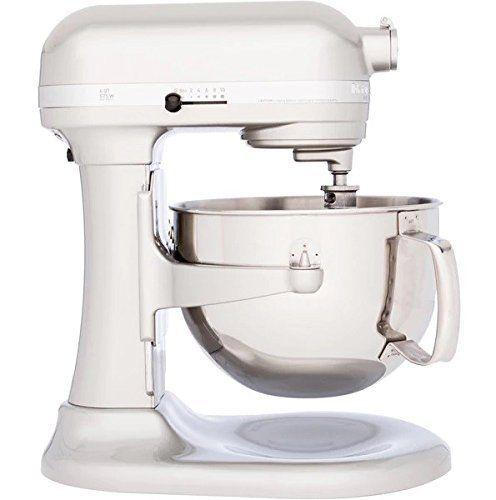 Kitchenaid Professional 600 Series Kp26m1xer Bowllift Stand Mixer 6 Quart Sugar Pearl Silver Kitchen Aid Kitchenaid Professional 600 Kitchenaid Professional