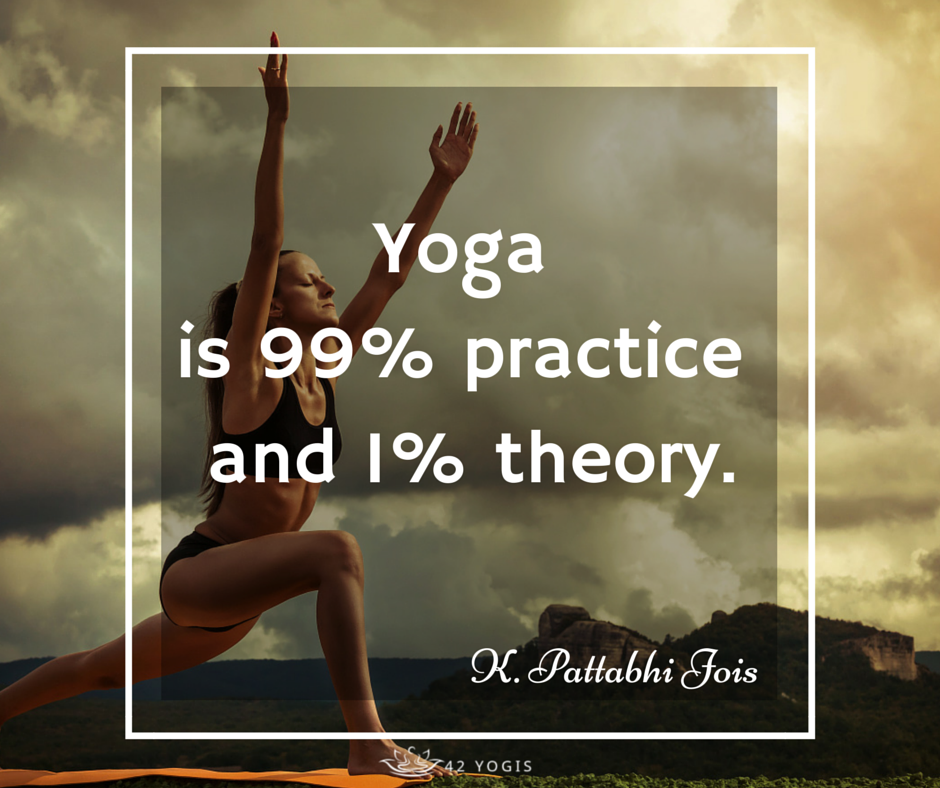 40 Yoga Quotes To Inspire Your Practice: Practice Makes Perfect... #practice #yoga #inspirational