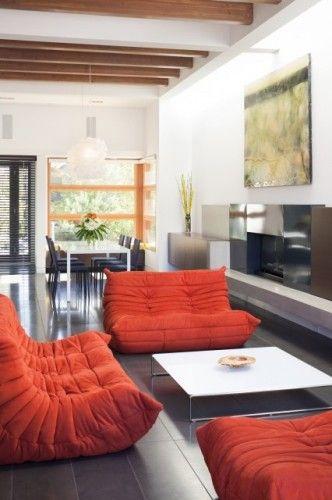 Ligne Roset sofa (my sofa in red \u003c3) \u003c\u003c\u003e\u003eTHE ARTISAN