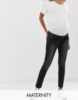 835fe6ff298c5 Bandia Maternity over the bump tailored pants with removable bump band