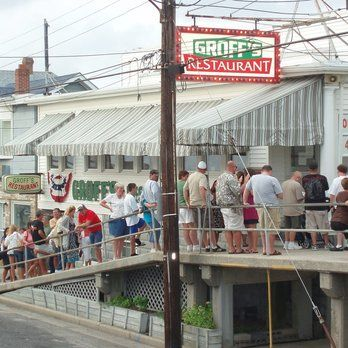 Groff S Restaurant Wildwood Nj Which Sadly Has Closed Its Doors This Year