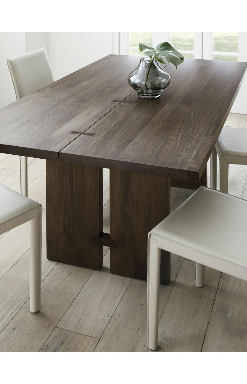 Monarch Shiitake 108 Dining Table Dining Table Walnut Dining