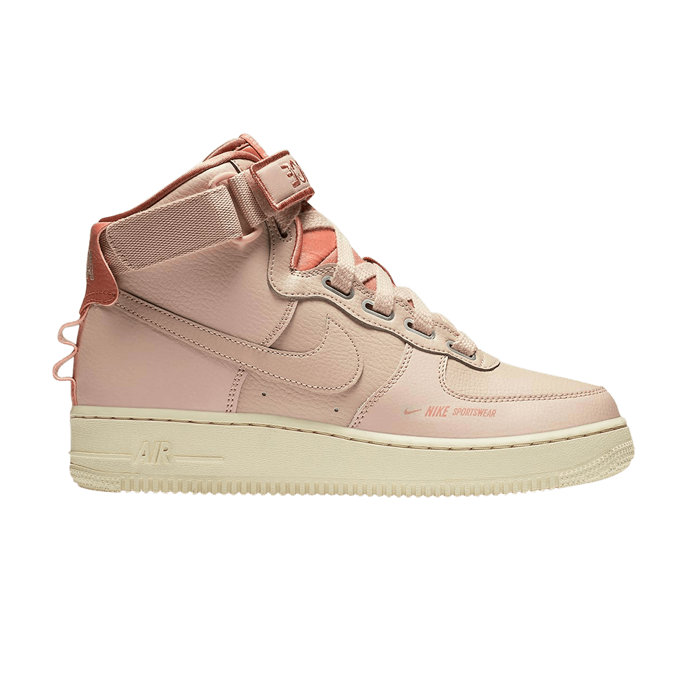 Wmns Air Force 1 High Utility Pink In 2020 Nike Air Force High Nike Air Nike Air Force