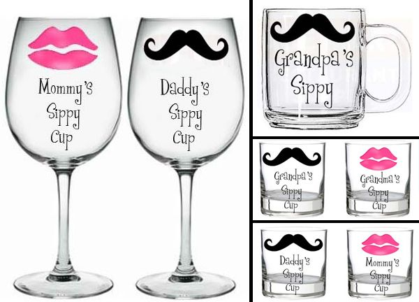 handpainted glassware personalize wine glasses mason jar wine