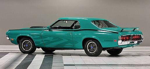 1970 Mercury Cougar Eliminator, 428 CJ - 335 hp