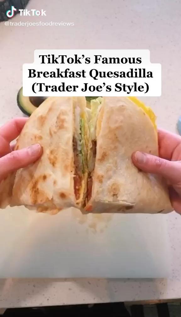 Breakfast Quesadillas Video In 2021 Healthy Breakfast Healthy Eating Breakfast Air Fryer Recipes Healthy