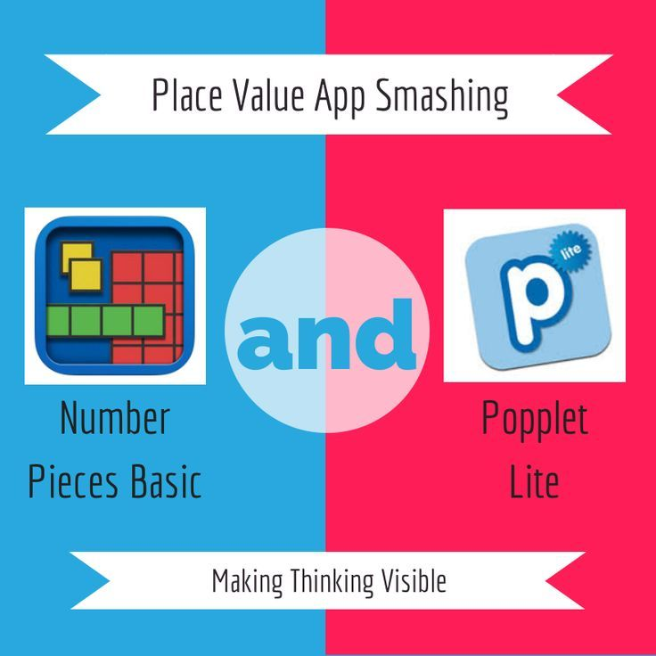 Place Value App Smash - using iPad apps to help show understanding