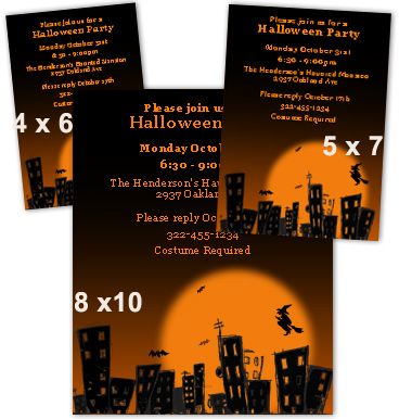 Printable Halloween Invitations Templates Free Halloween Party