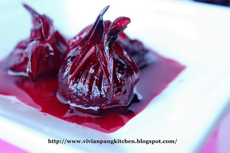 Pickled Roselle 洛神蜜餞 Paperblog Caribbean Recipes Sweet Meat Homegrown Food