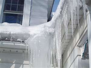 Does Ice Dams Cause Damage To The Roof Or Shingles Ice Dams Shingling Roof