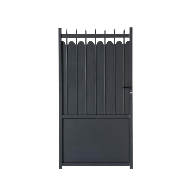 portillon aluminium adaggio gamme confort lapeyre. Black Bedroom Furniture Sets. Home Design Ideas