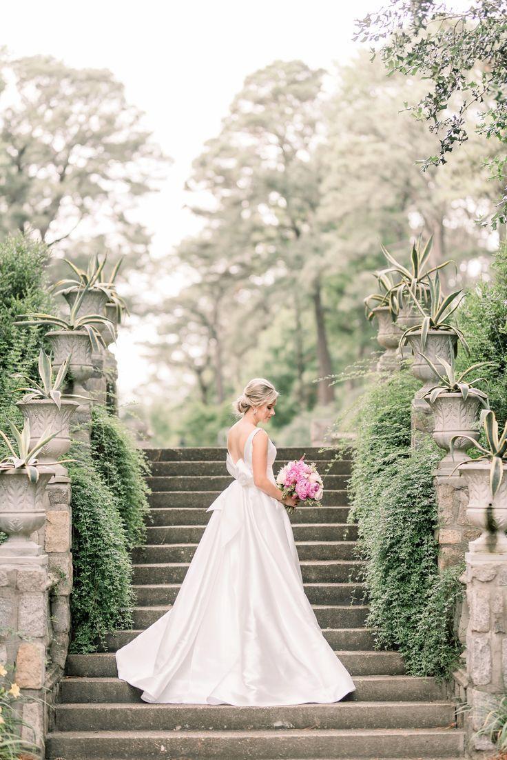 Norfolk Botanical Gardens Bridal Portraits