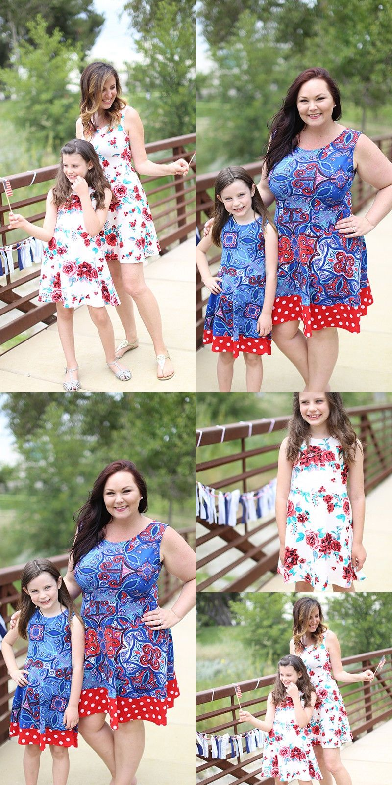 2018 Brand New Family Matching Casual Dress Mother Daughter Women Girl Soft  Party Summer Beach Dress Sleeveless Sundress Clothes 591a451b37e2