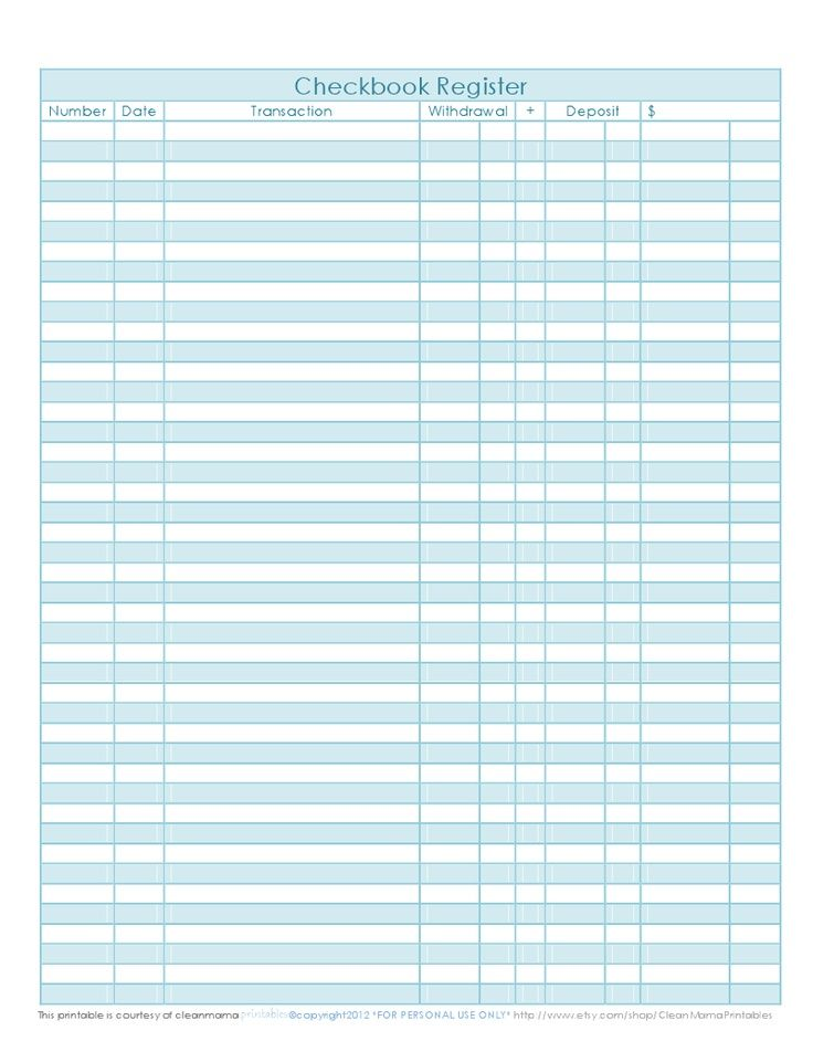 661282762ff98824f544058111e79a3fjpg (736×952) Organization - Printable Bank Ledger