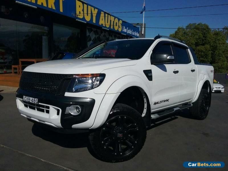 2015 Ford Ranger Px Wildtrak 3 2 4x4 White Automatic 6sp A