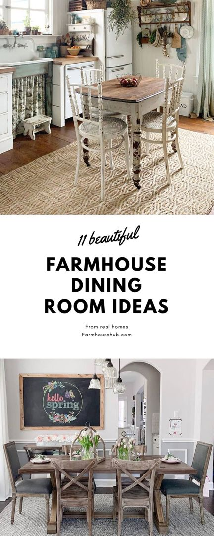 Are you ready to wave your creative wand to design the beautiful, warm and inviting farmhouse dining room of your dreams? #diningroom #diningroomideas #diningroomdecorating #diningroomdecor #diningroomlighting #diningroomtablechairs #diningroomsets #farmhouse #farmhousedecor #farmhousediningroom #farmhousediningchairs #diningroomchairs #diningroomtable