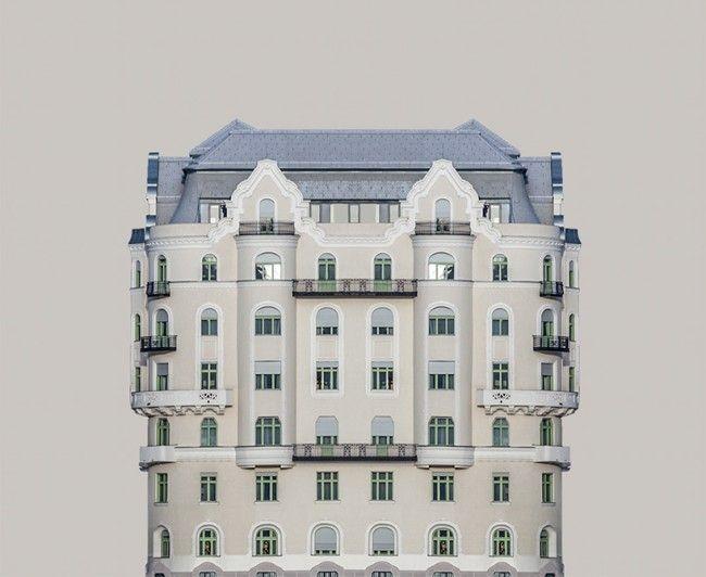 Urban Symmetry:攝影師在多瑙河畔發現建築的對稱之美 10