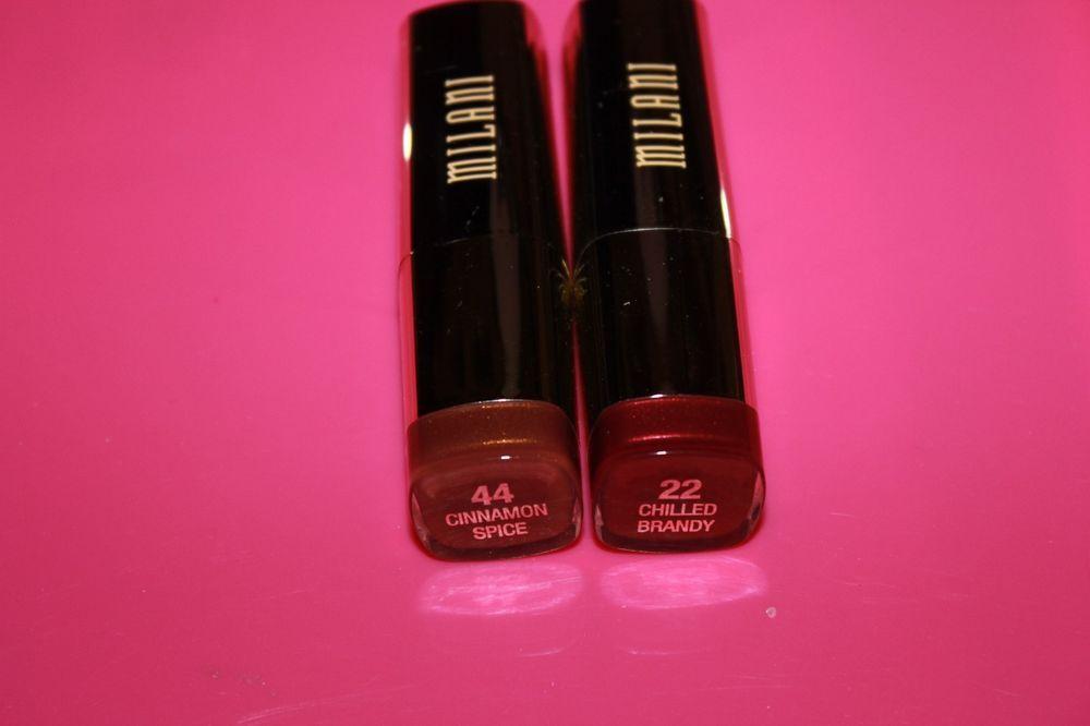 Milani Color Statement Lipstick in Cinnamon Spice 44